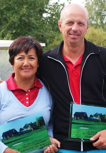 2014-klubbmestre: Leona Pilares og Per Frode Haugen