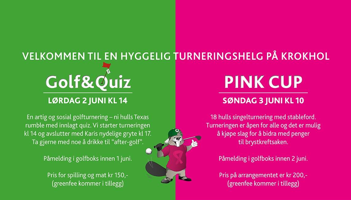 Quiz og pink