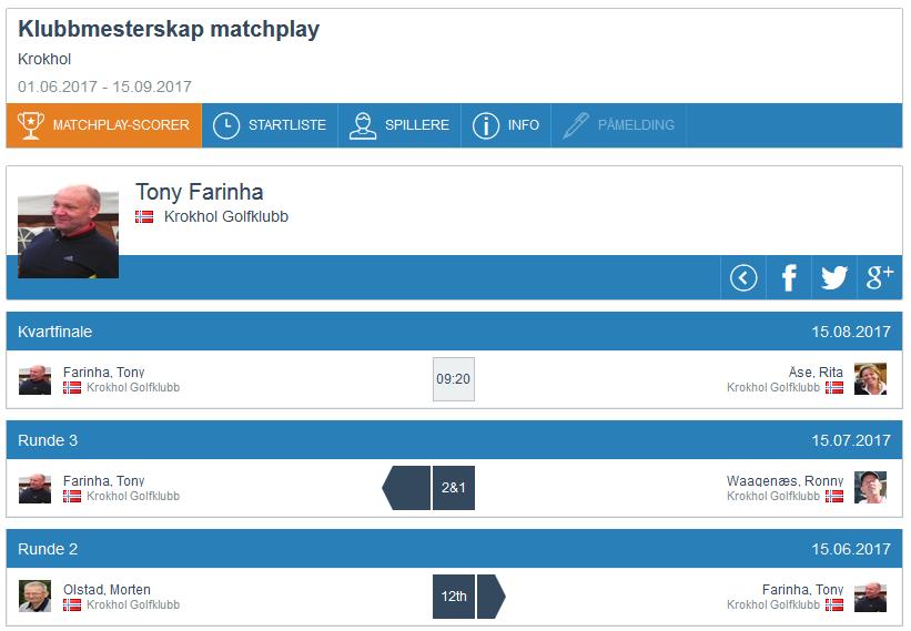 Matchplay update, runde 3 (5)