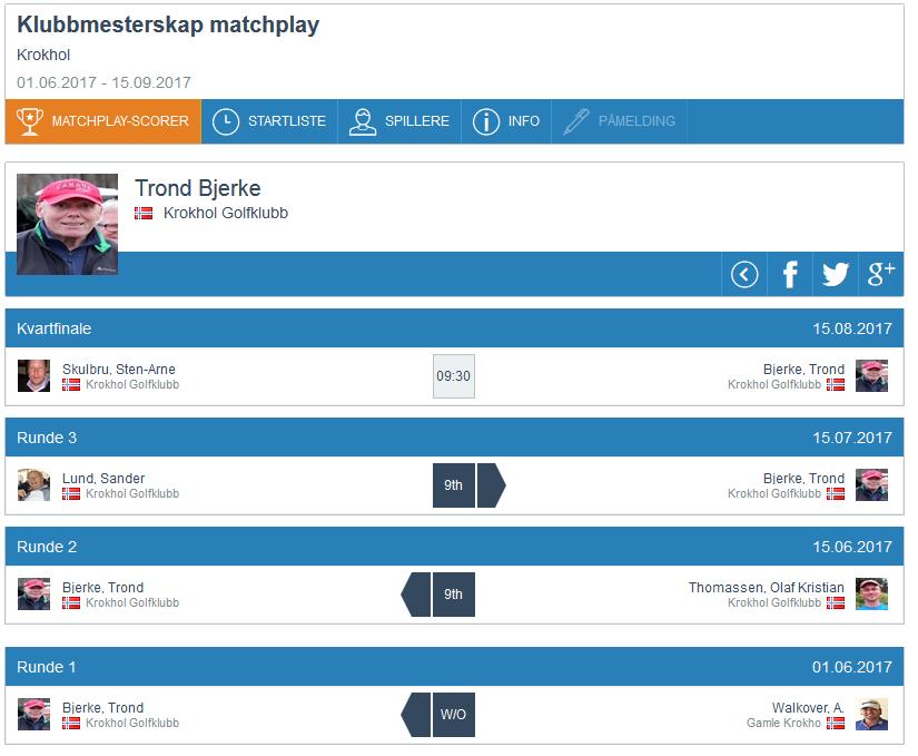 Matchplay update, runde 3 (6)