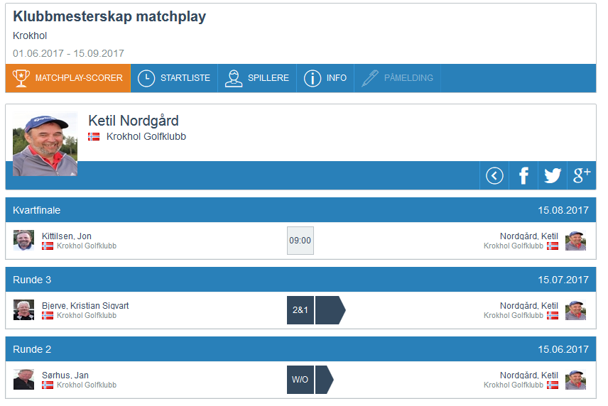 Matchplay update, runde 3 (8)